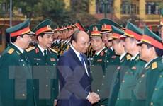 Thủ tướng thăm và làm việc tại Binh chủng Tăng Thiết giáp