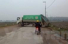 Sóc Sơn đề xuất một số nội dung về chính sách đền bù ở bãi rác Nam Sơn