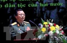 Míttinh kỷ niệm 70 năm ngày truyền thống quân tình nguyện tại Lào