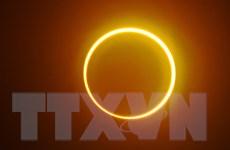 Chứng kiến hiện tượng nhật thực vòng tròn lửa siêu hiếm