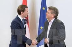 Áo: OeVP và đảng Xanh ký thỏa thuận thành lập chính phủ liên minh