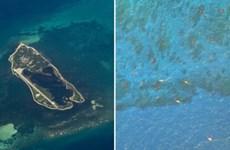 """Các đốm sáng """"kỳ bí"""" tại Biển Đông trên ứng dụng Google Maps"""