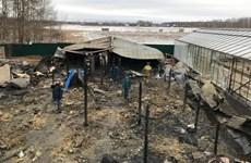 Tin thêm về khả năng người Việt thiệt mạng vụ cháy ở ngoại ô Moskva
