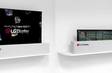 LG Electronics có thể mở bán TV màn hình cuộn trong nửa đầu năm