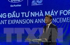 Ford Việt Nam bổ sung thêm trên 80 triệu USD mở rộng sản xuất