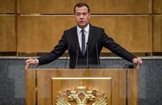 Thủ tướng Nga Medvedev trình đơn từ chức lên Tổng thống Putin
