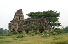Phát hiện tượng sư tử cổ ở quần thể đền nổi tiếng Campuchia