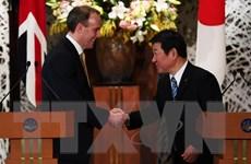 Anh và Nhật Bản nhất trí thúc đẩy đàm phán hiệp định thương mại