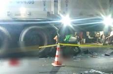 An Giang: Xe môtô va chạm xe tải đi cùng chiều, 2 người tử vong