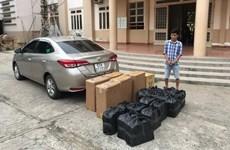 Tây Ninh phát hiện vụ vận chuyển gần 6.000 bao thuốc lá ngoại nhập lậu