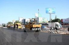 TP.HCM: Hầm chui An Sương thi công trở lại sau hơn 1 năm tạm ngừng