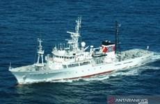 Nhật Bản bàn giao tàu tuần tra Hakurei Maru cho Indonesia