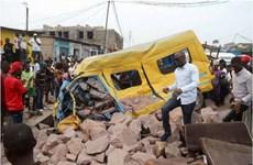 Ít nhất 14 người thiệt mạng trong vụ tai nạn giao thông ở CHDC Congo