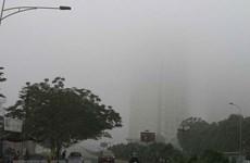 Hà Nội ô nhiễm không khí cả ngày, Bắc Bộ trời rét về đêm và sáng