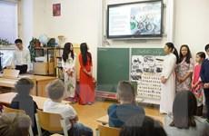 """Sôi động """"Ngày văn hóa Việt Nam"""" tại một trường học tại Séc"""