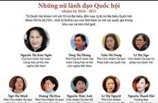 [Infographics] Những nữ lãnh đạo Quốc hội nhiệm kỳ 2016-2021