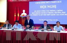Thừa Thiên-Huế đảm bảo phòng chống dịch COVID-19 trong trường học