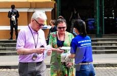 Hà Nội cách ly khách du lịch nước ngoài trên chuyến bay VN0054
