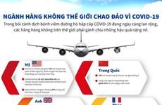 [Infographic] Ngành hàng không thế giới chao đảo vì COVID-19