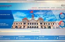 Dịch COVID-19: TP.HCM tăng cường giải quyết công việc qua mạng