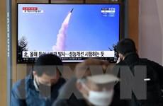Phủ Tổng thống Hàn Quốc họp khẩn về vụ phóng tên lửa của Triều Tiên