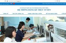 Dùng hệ thống đăng ký trực tuyến biện pháp bảo đảm bằng động sản
