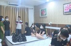 Phú Thọ: Bắt quả tang 2 nhóm nam, nữ sử dụng ma túy trong khách sạn