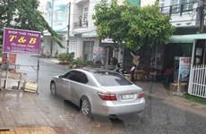 Trận mưa rào đầu tiên 'giải nhiệt' cho thành phố Cần Thơ