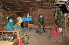 Những người chiến sỹ chặn dịch ở lối mòn biên giới Việt Nam-Campuchia