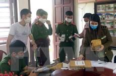 Bắc Giang tịch thu nhiều linh kiện lắp ráp súng hơi khí nén