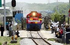 Hàn Quốc: Dự án đường sắt ven biển Đông là dự án hợp tác liên Triều