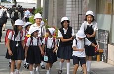 Số trẻ em dưới 15 tuổi tại Nhật Bản giảm mạnh nhất trong lịch sử