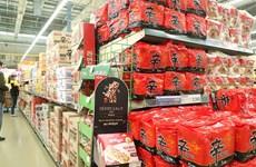 Xuất khẩu thực phẩm của Hàn Quốc gia tăng trong mùa dịch COVID-19