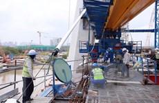 TP.HCM: Cầu Thủ Thiêm 2 sẽ thông xe kỹ thuật vào cuối năm