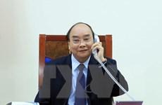 Thủ tướng Nguyễn Xuân Phúc điện đàm với Tổng thống Philippines