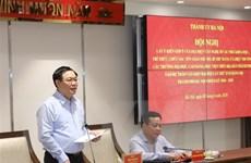 Lấy ý kiến góp ý vào dự thảo Văn kiện Đại hội Đảng bộ thành phố Hà Nội