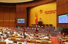 Thông qua Nghị quyết về Chương trình xây dựng luật, pháp lệnh năm 2021