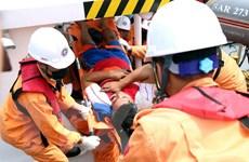 Lưc lượng cứu nạn phát hiện xác tàu cá TH 90282 TS bị chìm