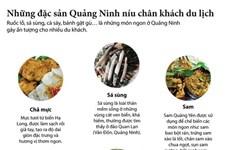 [Infographics] Những đặc sản của Quảng Ninh níu chân du khách