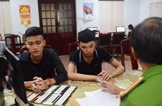 Thừa Thiên-Huế: Triệt phá đường dây đánh bạc qua trò chơi trực tuyến