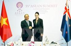 Điện mừng 45 năm thiết lập quan hệ ngoại giao Việt Nam-New Zealand