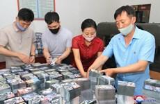 KCNA: Triều Tiên đang in số lượng lớn truyền đơn chống Hàn Quốc