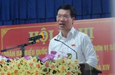 Trưởng ban Tuyên giáo TW Võ Văn Thưởng tiếp xúc cử tri huyện Xuân Lộc