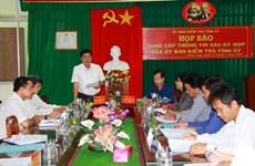Ủy ban Kiểm tra Tỉnh ủy Vĩnh Long thi hành kỷ luật đảng viên vi phạm