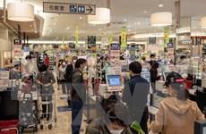 Doanh số bán lẻ của Nhật Bản tiếp tục giảm ở mức hai chữ số