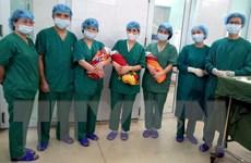 Tuyên Quang: Phẫu thuật cấp cứu kịp thời sản phụ sinh ba hiếm gặp