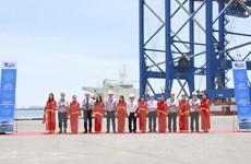 Doosan Vina xuất 2 cẩu trục siêu trường siêu trọng đến cảng Gemalink