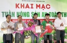 Khai mạc Phiên chợ tuần nông sản an toàn thực phẩm 2020