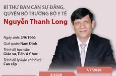 Quá trình công tác của Quyền Bộ trưởng Bộ Y tế Nguyễn Thanh Long
