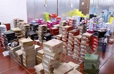 Phát hiện, kiểm tra đột xuất kho hàng lậu lớn tại Lào Cai